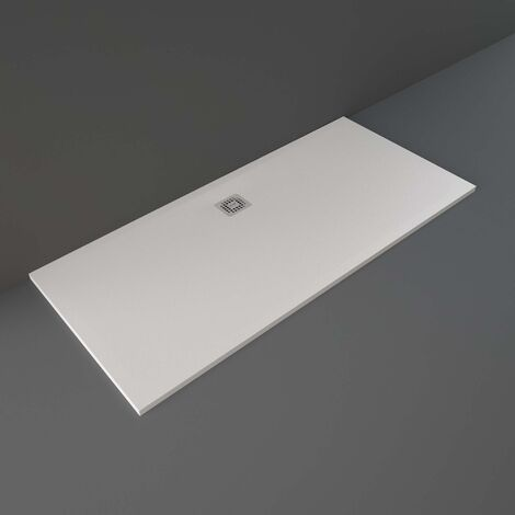 RAK Feeling Bathtub Replacement Rectangular Shower Tray 1800mm x 800mm Solid White