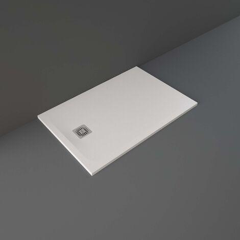 RAK Feeling Rectangular Shower Tray 1200mm x 800mm Solid White