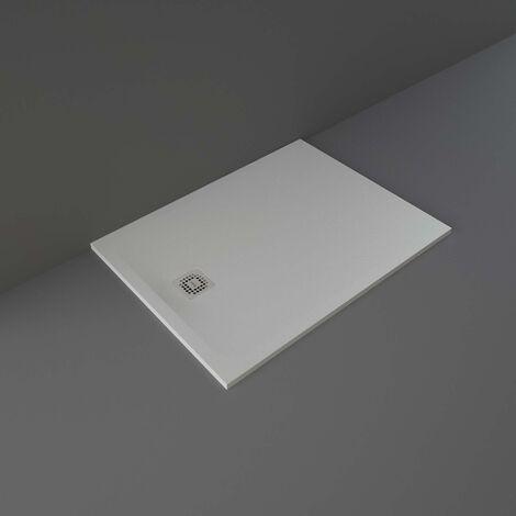 RAK Feeling Rectangular Shower Tray 1200mm x 900mm Solid Grey