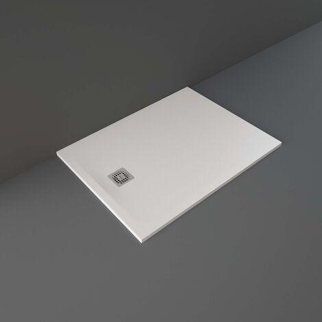RAK Feeling Rectangular Shower Tray 1200mm x 900mm Solid White