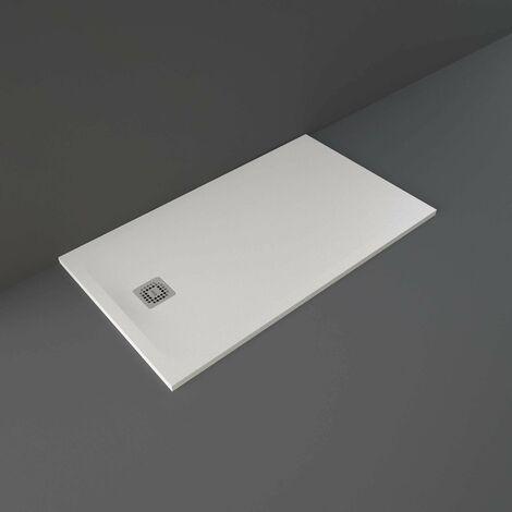 RAK Feeling Rectangular Shower Tray 1400mm x 800mm Solid White