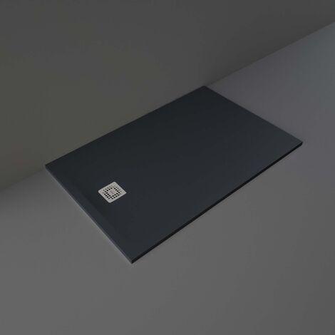 RAK Feeling Rectangular Shower Tray 1400mm x 900mm Solid Black