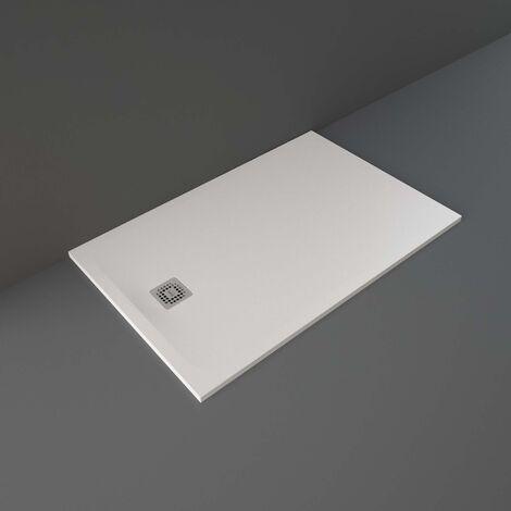 RAK Feeling Rectangular Shower Tray 1400mm x 900mm Solid White