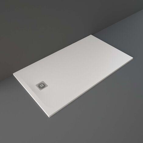 RAK Feeling Rectangular Shower Tray 1600mm x 900mm Solid White
