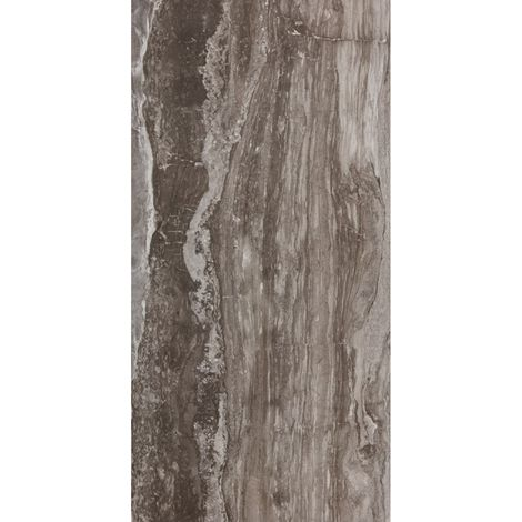 RAK Glam Marble Brown Polished 60cm x 120cm Porcelain Floor and Wall Tile - A12GZGBL-BR0.G0S9P