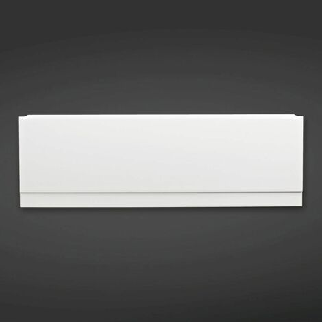RAK Gloss White 1800mm Front Bath Panel - MNHTFP1800