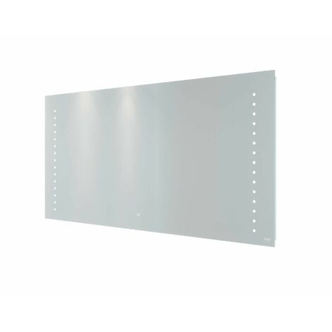 RAK Hestia LED Bathroom Mirror Demister Anti-Fog Shaver Socket IP44 600 x 1200mm