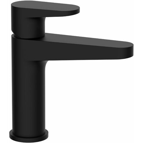 RAK Ischia Basin Mixer Tap Without Waste - Matt Black