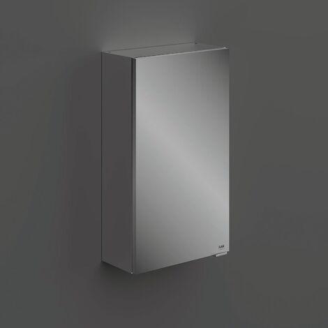 RAK Joy 1 Door Wall Hung Mirror Cabinet 400mm Wide