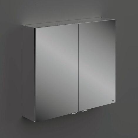 RAK Joy 2 Doors Wall Hung Mirror Cabinet 800mm Wide