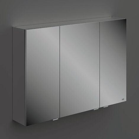 RAK Joy 3 Doors Wall Hung Mirror Cabinet 1000mm Wide