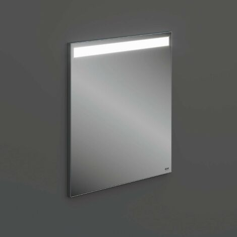 RAK Joy Wall Hung Bathroom Mirror with LED Mirror 680mm H x 600mm W
