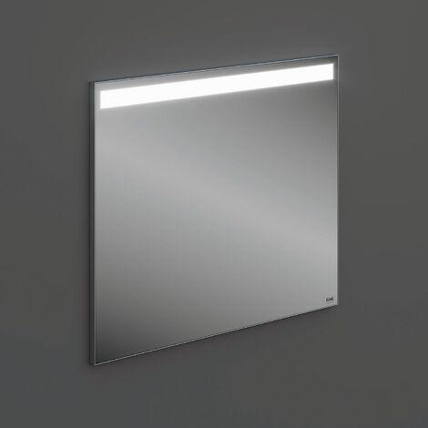RAK Joy Wall Hung Bathroom Mirror with LED Mirror 680mm H x 800mm W