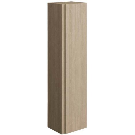 RAK Joy Wall Hung Tall Storage Unit 300mm Wide - Scandi Oak