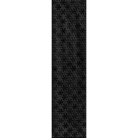 RAK Loft Brick Black Decor Gloss 6.5cm x 26cm Ceramic Wall Tile - A56WLOBR-BK0.GDU