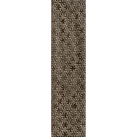 RAK Loft Brick Brown Decor Gloss 6.5cm x 26cm Ceramic Wall Tile - A56WLOBR-BR0.GDU
