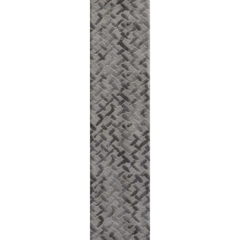RAK Loft Brick Grey Decor Gloss 6.5cm x 26cm Ceramic Wall Tile - A56WLOBR-GY0.GDU