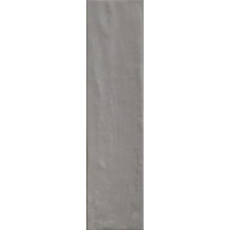 RAK Loft Brick Grey Gloss 6.5cm x 26cm Ceramic Wall Tile - A56WLOBR-GY0.G0U