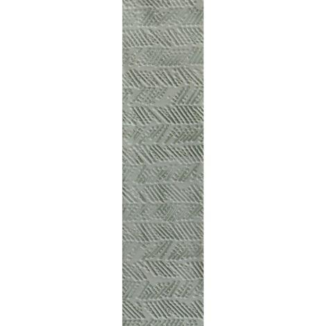 RAK Loft Brick Light Green Decor Gloss 6.5cm x 26cm Ceramic Wall Tile - A56WLOBR-LV0.GDU
