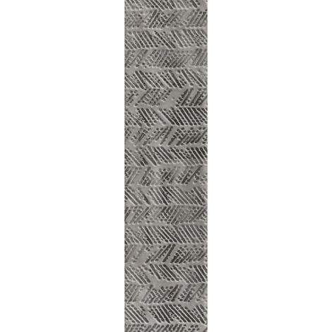 RAK Loft Brick Light Greige Decor Gloss 6.5cm x 26cm Ceramic Wall Tile - A56WLOBR-LGE.GDU