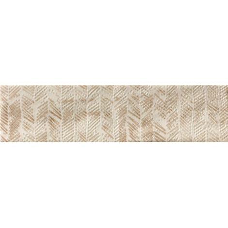 RAK Loft Brick Warm White Decor Gloss 6.5cm x 26cm Ceramic Wall Tile - A56WLOBR-WW0.GDU