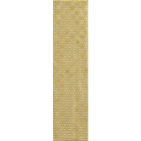 RAK Loft Brick Yellow Decor Gloss 6.5cm x 26cm Ceramic Wall Tile - A56WLOBR-YE0.GDU