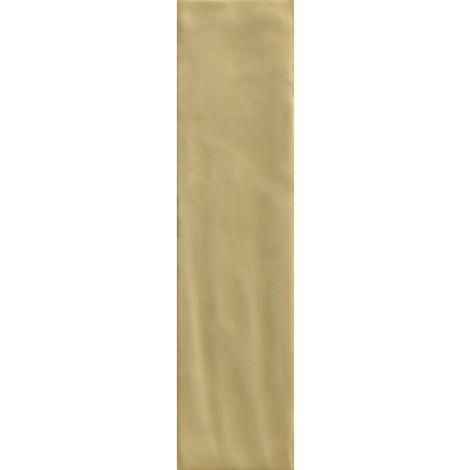 RAK Loft Brick Yellow Gloss 6.5cm x 26cm Ceramic Wall Tile - A56WLOBR-YE0.G0U