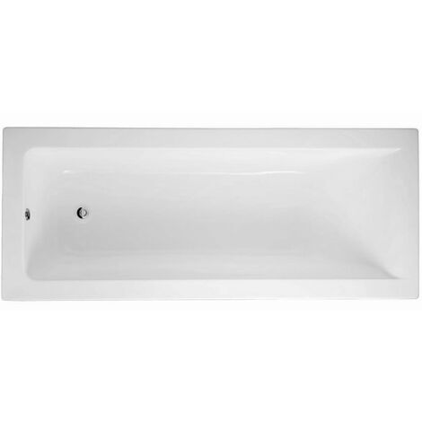 RAK Metropolitan Single Ended Rectangular Bath 1700mm x 700mm - Acrylic