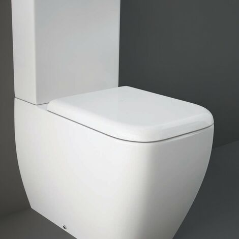 RAK Metropolitan Soft Close Urea Seat With Quick Release Hinge
