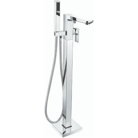 RAK Moon Freestanding Bath Shower Mixer Tap - Chrome