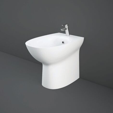 RAK Morning Back To Wall Bidet 520mm Projection - White