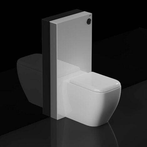 "main image of ""RAK Obelisk Cistern Cabinet for Back to Wall Toilet Pan - White"""