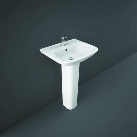 RAK - Origin 520mm Basin with Full Pedestal