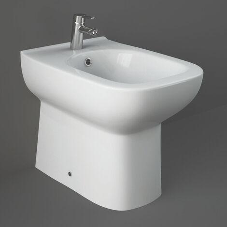 RAK Origin Back to Wall Bidet 500mm Projection - White