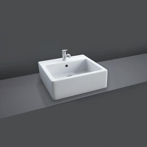 RAK Patrizia Square 510mm x 510mm x 170mm Counter Top Basin - PATRIZ
