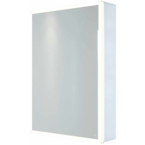 RAK Pisces 1-Door Mirrored Bathroom Cabinet 700mm H x 500mm W