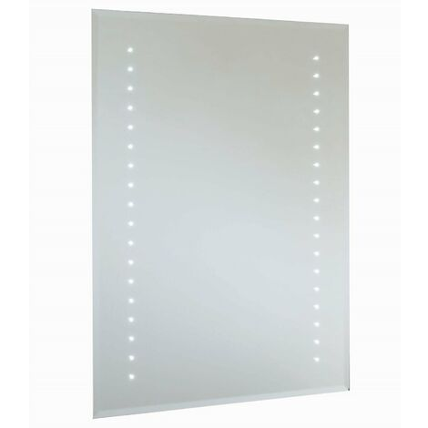 RAK Rubens Rectangular Bathroom Mirror 700mm H x 500mm W Illuminated