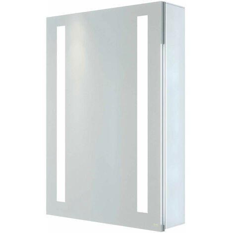 RAK Sagittarius 1-Door Mirrored Bathroom Cabinet 700mm H x 500mm W