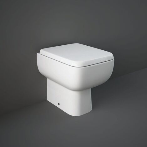 RAK Series 600 Back to Wall Toilet 490mm Projection - Soft Close Seat