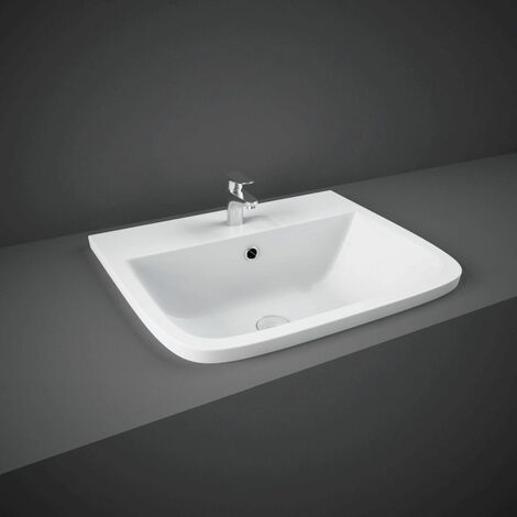 RAK Series 600 Inset Basin with 1 Tap Hole - S600VB1