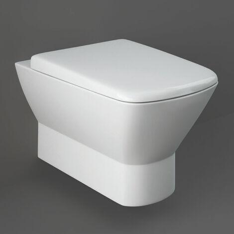 RAK Summit Wall Hung Toilet with Hidden Fixations - Urea Soft Close Seat