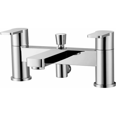 RAK Tonique Bath Shower Mixer with Shower Head and Holder - Chrome