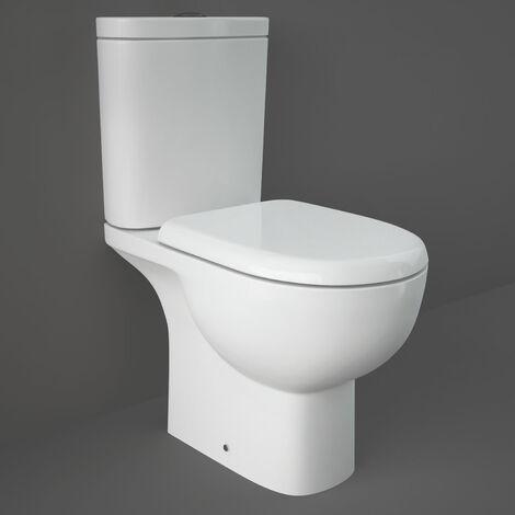 RAK Tonique Close Coupled Toilet with Soft Close Seat