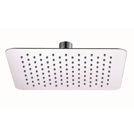 RAK Ultra Slim Air Induction Square Shower Head - Chrome