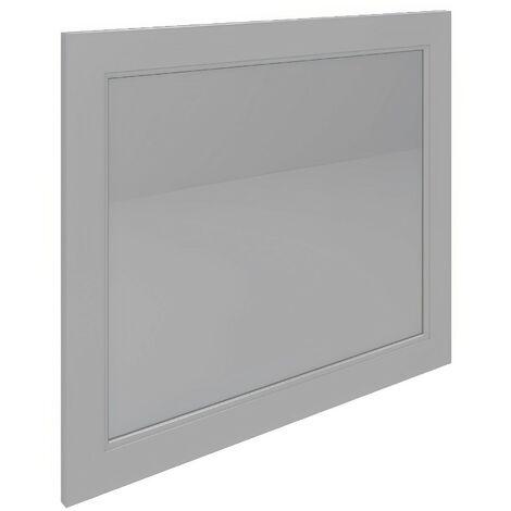 RAK Washington Framed Bathroom Mirror - 650mm H x 1185mm W - Cappuccino