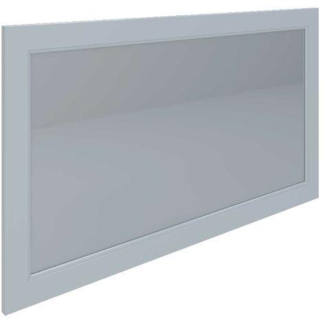 RAK Washington Framed Bathroom Mirror - 650mm H x 1185mm W - Greige
