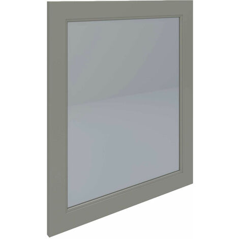 RAK Washington Framed Bathroom Mirror - 650mm H x 585mm W - Cappuccino