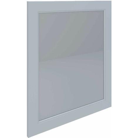 RAK Washington Framed Bathroom Mirror - 650mm H x 585mm W - White