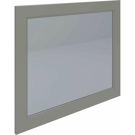RAK Washington Framed Bathroom Mirror - 650mm H x 785mm W - Cappuccino