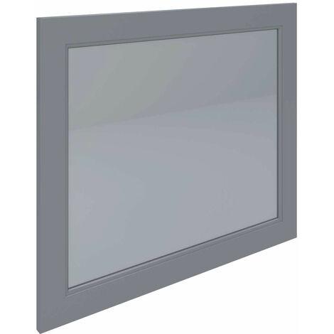 RAK Washington Framed Bathroom Mirror - 650mm H x 785mm W - Grey